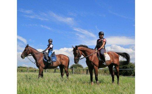 『乗馬体験(2)』の画像